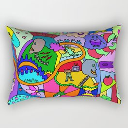 Abstract 16, RA Rectangular Pillow
