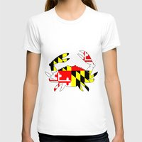 house md T-shirts featuring Md crab by junaputra