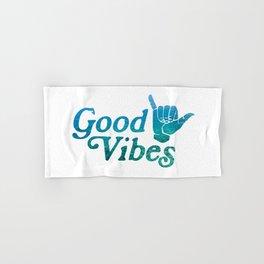 Good Vibes Shaka Hand & Bath Towel
