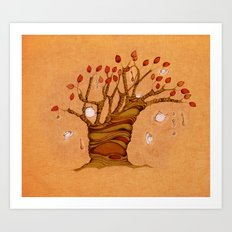 The teatree Art Print