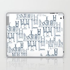 Tables and Chairs Laptop & iPad Skin