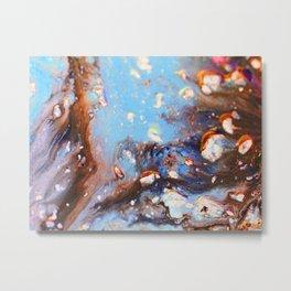 Blue energy Metal Print