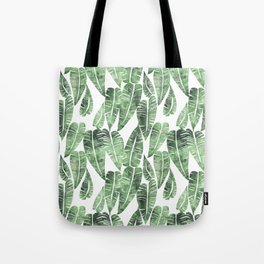 Island Goddess Leaf Green Tote Bag