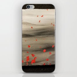 Ashes of blossoms iPhone Skin