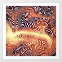 Volcanic Art Print