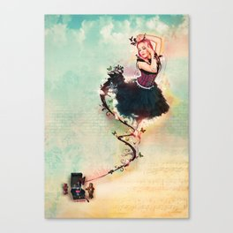 Fairy-Darling Canvas Print