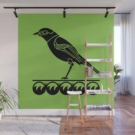 Wetlands Bird Wall Mural