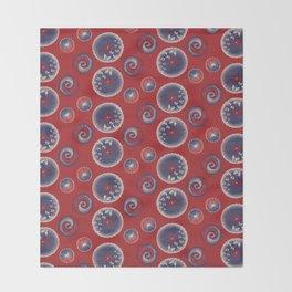 Wagasa (和傘 / Oil-paper umbrella) Throw Blanket