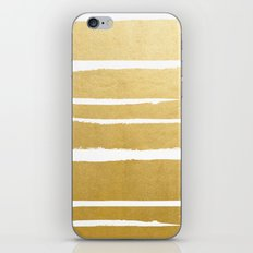 Gold Vibes Only #society6 #decor #buyart iPhone & iPod Skin