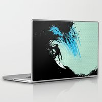 surfing Laptop & iPad Skins featuring Surfing by CSNSArt