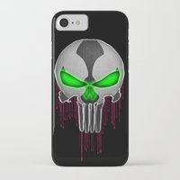 spawn iPhone & iPod Cases featuring Punisher Spawn Mash-Up by Joshua Epling