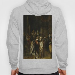 Rembrandt's The Night Watch Hoody