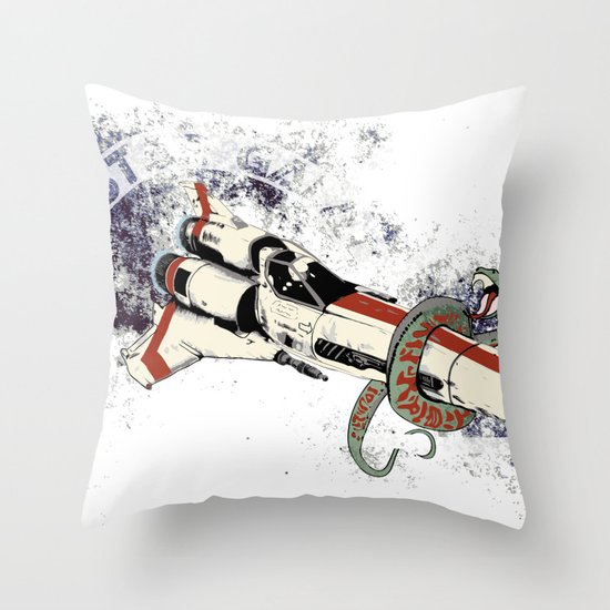Viper Mark II Throw Pillow
