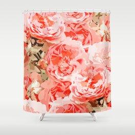 Fiona    #digitalart #nature #floral Shower Curtain