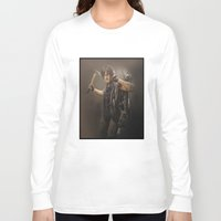 daryl dixon Long Sleeve T-shirts featuring Daryl Dixon - TWD by Annabelle Pickering