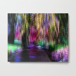 Abstract fluxum Metal Print