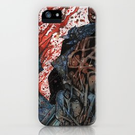INTO THE PIT - Stefano Cardoselli  iPhone Case