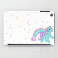 my little pony iPad Cases featuring My Little Pony Unicorn by lolia