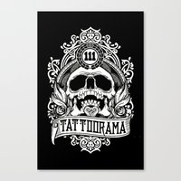 logo Canvas Prints featuring Logo by Tattoorama