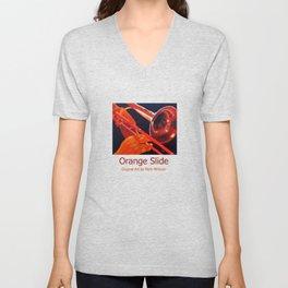 Orange Slide Unisex V-Neck