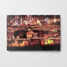 Hamburg Harbour XVII Metal Print