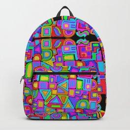 Jumbled Backpack