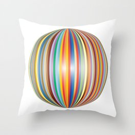 Color prisme Throw Pillow