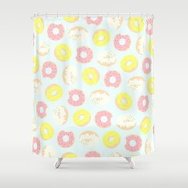 eat more hole foods Shower Curtain