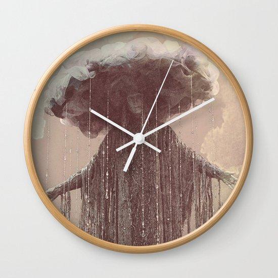 storm lady Wall Clock
