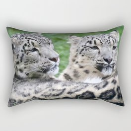 Aqua_Leopard_20180106_by_JAMColorsSpecial Rectangular Pillow