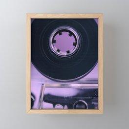 Audio Cassette Framed Mini Art Print