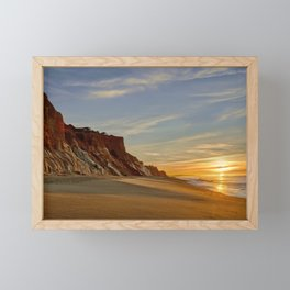 Falesia dawn Framed Mini Art Print