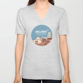Do Not Visit Ballarat  Unisex V-Neck