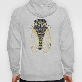 Cicada – Black & Gold Hoody