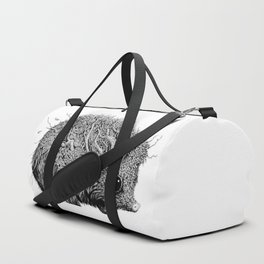 Leaf Hedgehog Duffle Bag