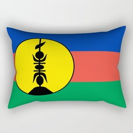 New Caledonia flag Rectangular Pillow