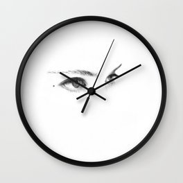 """""""the stare of the dammed"""" Wall Clock"""