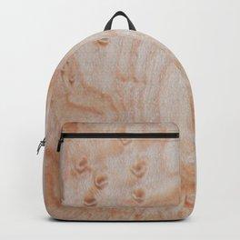 Unique eye maple wood design Backpack