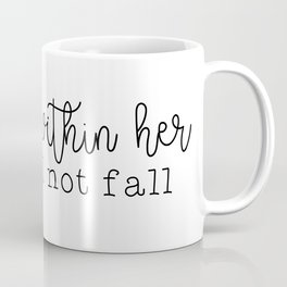 God Is Within Her Coffee Mug
