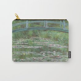 Claude Monet The Japanese Footbridge 1899 Painting Carry-All Pouch
