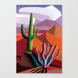 Black Canyon Desert Canvas Print