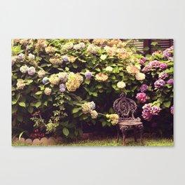 "Hydrangea - ""Peaceful Garden"" |  Photography Canvas Print"