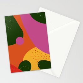 Clouds #Memphis #Abstract #Mid-Century Stationery Cards