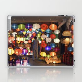 Colored lanterns Laptop & iPad Skin