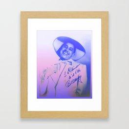 Are You Hep, Man? Framed Art Print