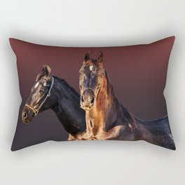 horse collection Rectangular Pillow