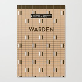 WARDEN | Subway Station Canvas Print