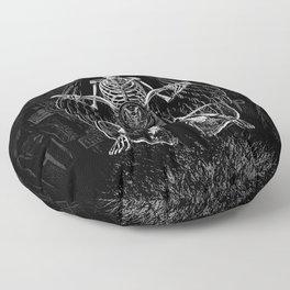 THE 4th HORSEMAN Floor Pillow