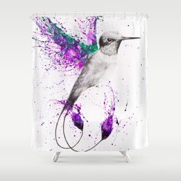 Humming Home Shower Curtain