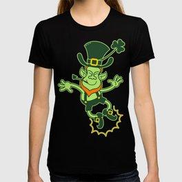 Leprechaun Clapping Feet T-shirt